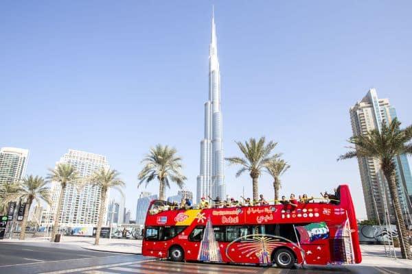 Bus touristique pour visiter Dubaï