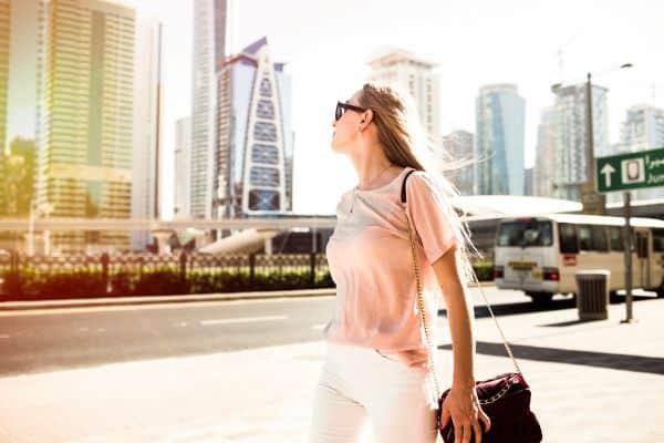 Photo dans les rues de Dubaï