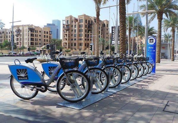 Location de vélo à Dubaï