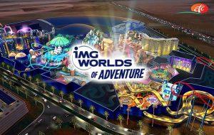 Parc d'attraction IMG World Of Adventure à Dubaï