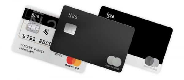 Carte de crédit n26