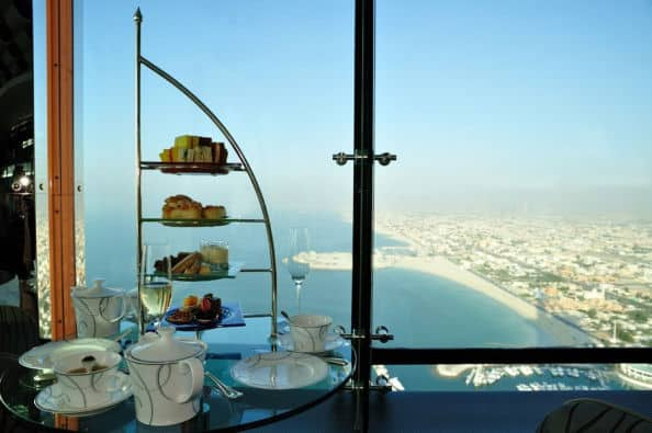 Skyview Bar dans le Burj Al Arab