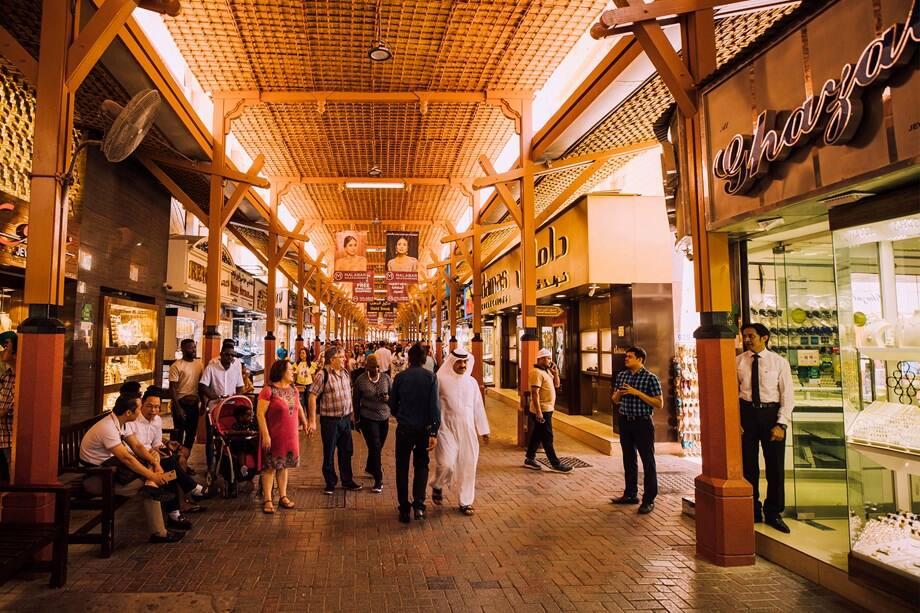 Souks vieux Dubaï