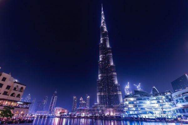 Dubaï la nuit