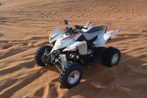 Activité quad à Dubaï