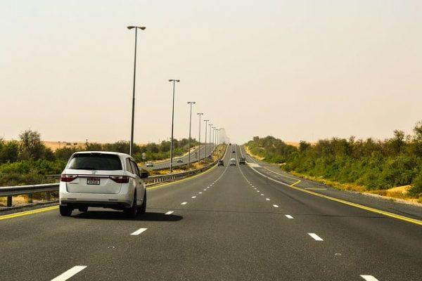 Route à Dubaï