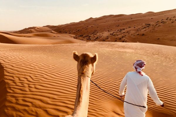 Safari dans le désert de Dubaï